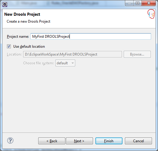 Drools Project Name