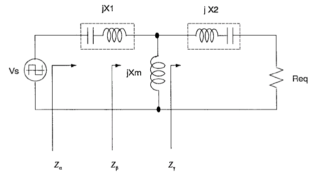 Artificial Heart Equivalent circuit