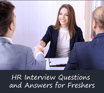 HR Interview Questions for Freshers with best Answers and